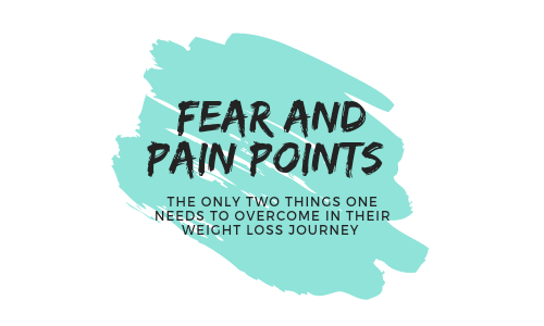 Fear and Pain Points in weight loss